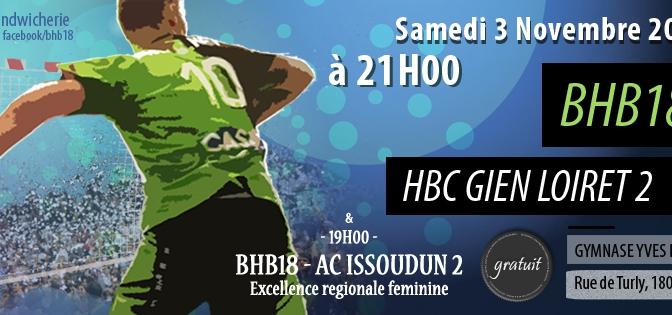 Prénationale: BHB18 – HBC Gien Loiret 2