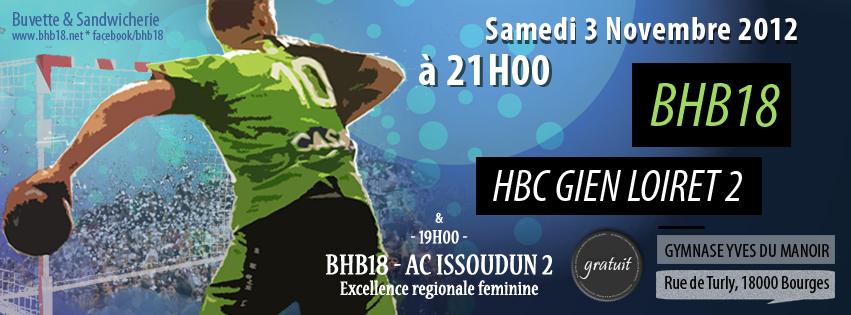 Prénationale: BHB18 – HBC Gien Loiret2