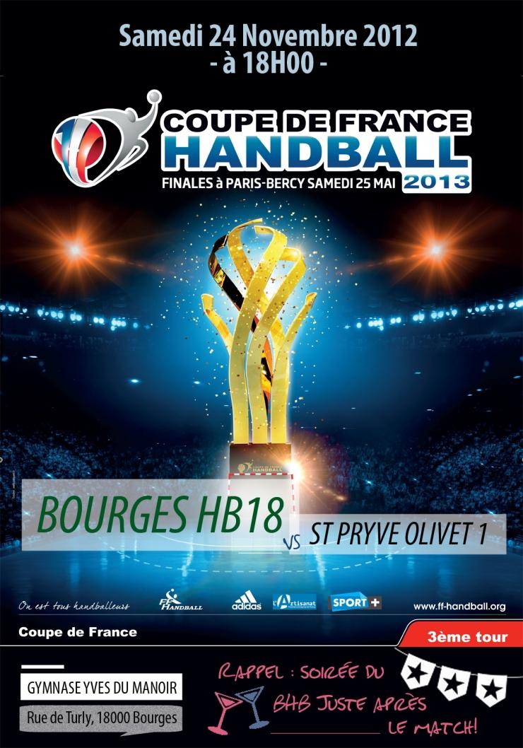 Affiche 5 Coupe de France OK BR