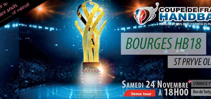 Coupe de France : Samedi 24 nov.