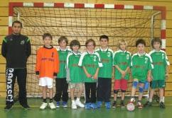 Les -12 garçons B (de gauche à droite): Nicolas, Thomas, Remy, Jason, Lucas, Naïm, Baptiste, Thomas et Adrien