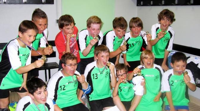 Une 1ère victoire pour les -12 ans à la Coupe du Cher!