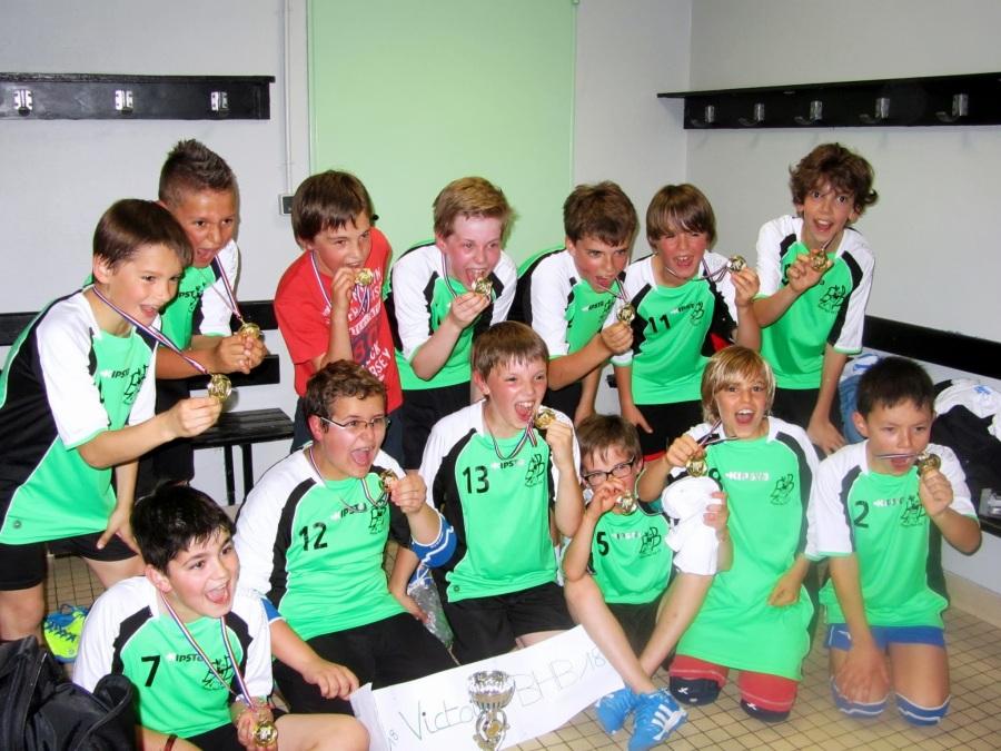 Une 1ère victoire pour les -12 ans à la Coupe duCher!