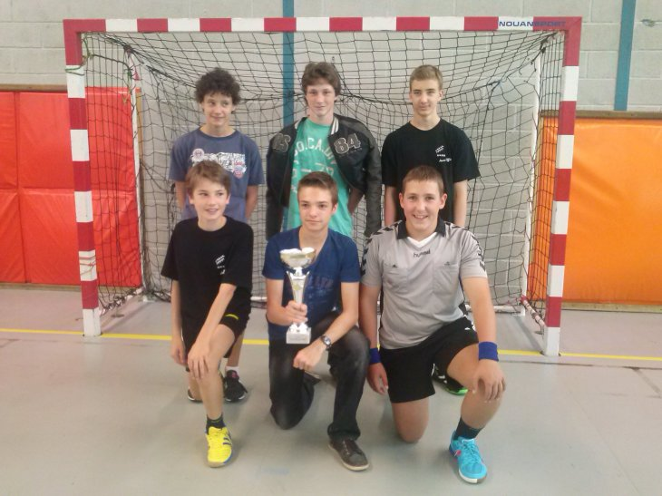 Nos jeunes arbitres récompensés