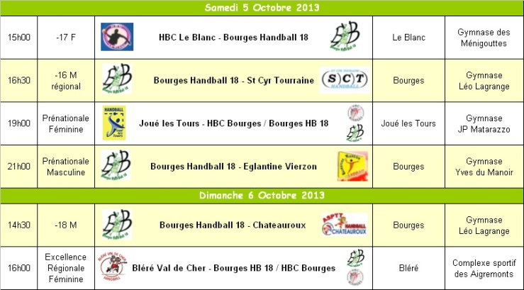 programme we 05/10/2013