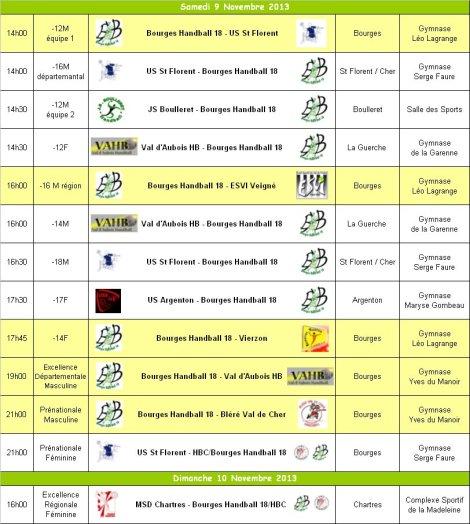 Programme WE 09-10 Novembre 2013