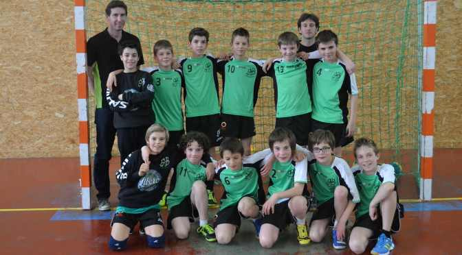 Les -12 garçons, 3ème du challenge régional