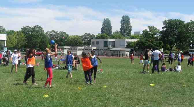 Le tournoi inter-écoles de Bourges nord