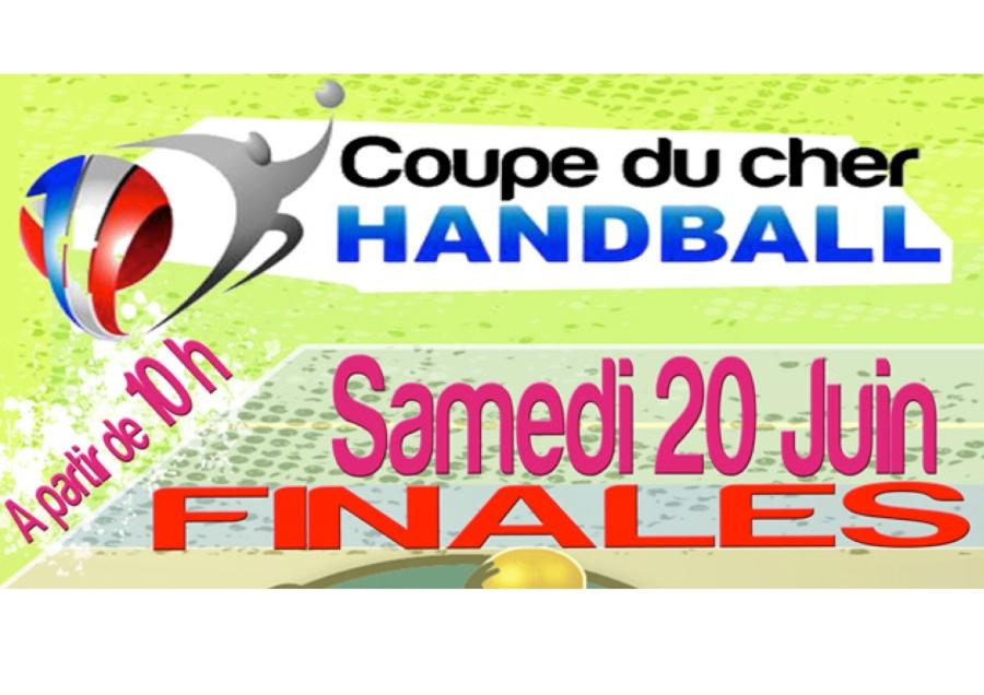 COUPE DU CHER : 6 équipes du BHB18 en finale samedi 20 juin 2015 àBoulleret