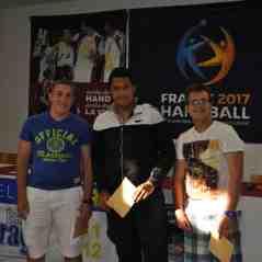 Valentin Blain, Erwan Affa et Anthony Perrot