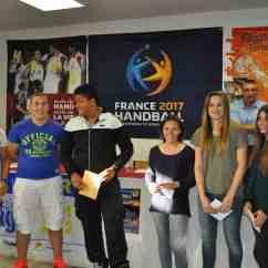 Valentin Blain, Erwan Affa, Anthony Perrot, Choé Quemin , Maurine Da Costa et Léa Nérot