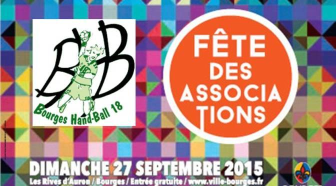 Le BHB18 présent à la fête des associations dimanche 27 septembre