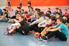 Nos jeunes arbitres : Anthony, Matthis et Yamine (manque Noé sur la photo)