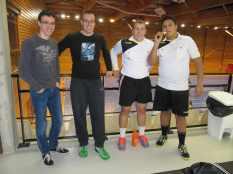 Nos JA : Galdric, Baptiste, Valentin et Erwan
