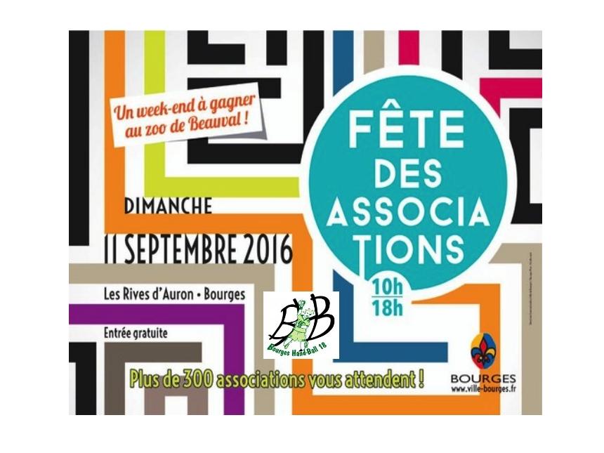 Le BHB18 à la fête des associations de Bourges ce dimanche 11Septembre