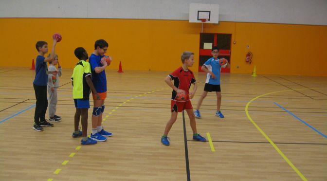 Un entraînement avec les -12 garçons