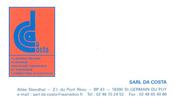 CARTE DE VISITE SARL 1