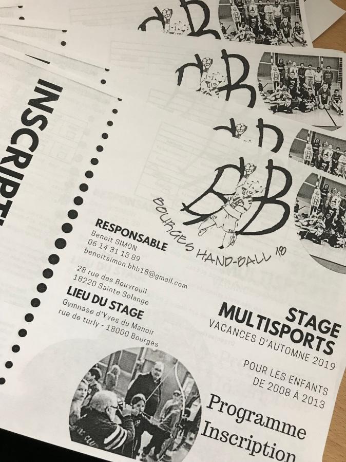 Stage multisports : vacancesd'Automne